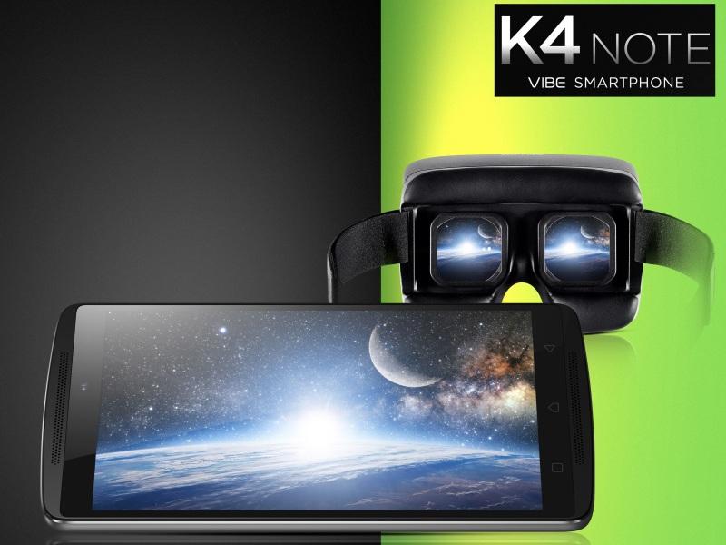Lenovo Vibe K4 Note, Phablet dengan Teknologi Virtual Reality