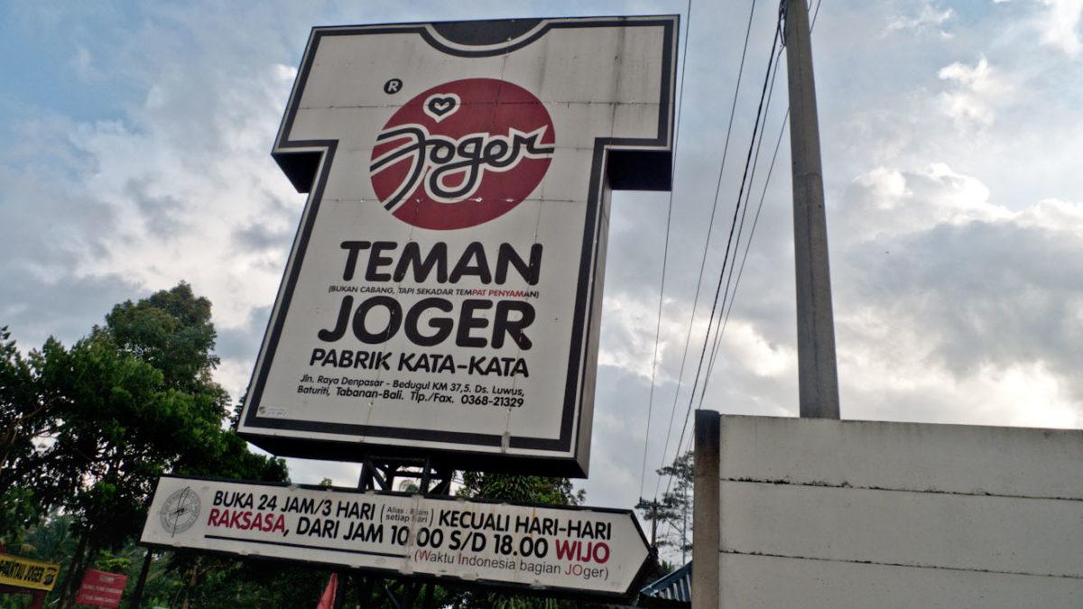 Oleh-oleh Khas Bali - Jogger